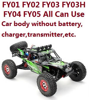 Feiyue FY03 car body without transmitter,battery,charger,etc. (All can use)
