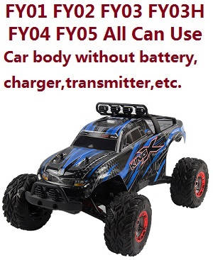 Feiyue FY05 car body without transmitter,battery,charger,etc. (All can use)