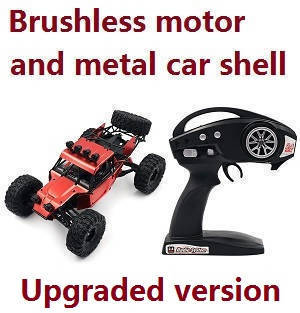 Feiyue FY01 FY02 FY03 FY03H FY04 FY05 RC car upgrade to brushless motor and metal car shell, RTR.