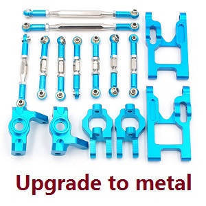 Feiyue FY01 FY02 FY03 FY03H FY04 FY05 RC truck car spare parts connect rod set + swing arm + universal seat and coupling set (Upgrade to metal)