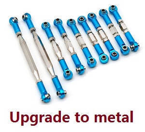 Feiyue FY01 FY02 FY03 FY03H FY04 FY05 RC truck car spare parts total connect rod set 9pcs (Upgrade to metal)