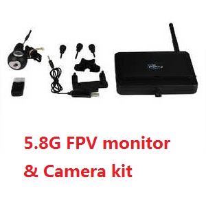Fayee fy550 fy550-1 quadcopter spare parts 5.8G FPV monitor and camera kit set