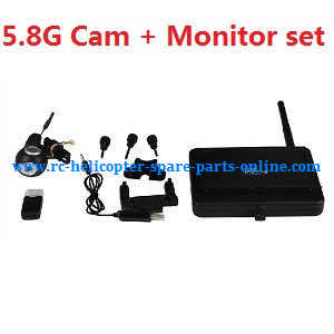 Fayee fy560 quadcopter spare parts 5.8G camera + Monitor set