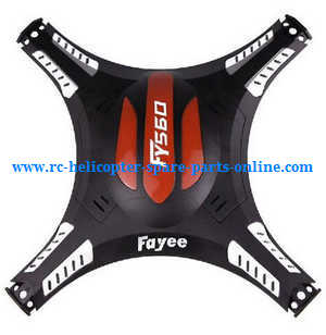Fayee fy560 quadcopter spare parts upper cover (Black)