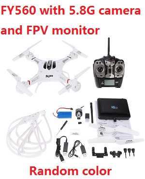 Fayee fy560 quadcopter with 5.8G camear and FPV monitor