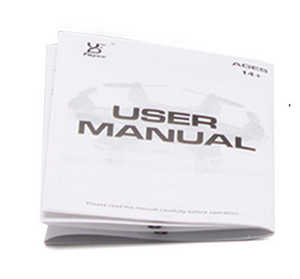 Fayee fy805 quadcopter spare parts English manual instruction book