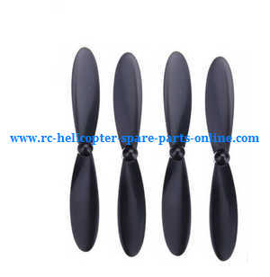 Hubsan H107C+ H107D+ RC Quadcopter spare parts main blades (Black)