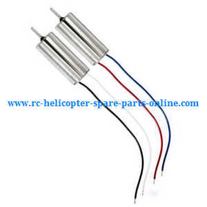 Hubsan H107C+ H107D+ RC Quadcopter spare parts main motors 2pcs