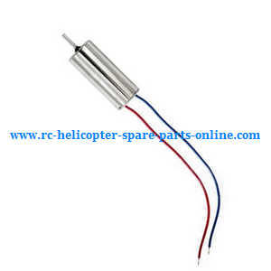 Hubsan H107C+ H107D+ RC Quadcopter spare parts main motor (Red-Blue wire)