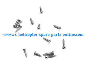 Hubsan H107C+ H107D+ RC Quadcopter spare parts screws