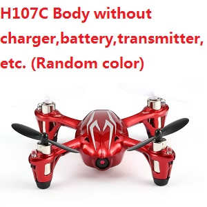 Hubsan X4 H107C Body without transmitter,battery,charger,etc. (Random color)