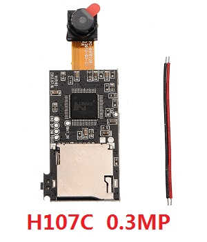 H107C H107D Hubsan X4 RC Quadcopter spare parts 0.3MP camera