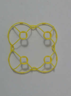 Hubsan H111 H111C H111D RC Quadcopter spare parts protection frame set (Yellow)