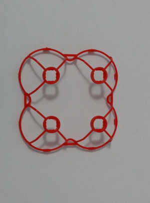 Hubsan H111 H111C H111D RC Quadcopter spare parts protection frame set (Red)