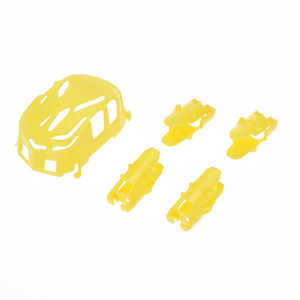 Hubsan H111 H111C H111D RC Quadcopter spare parts body cover and motor deck (H111 Yellow)