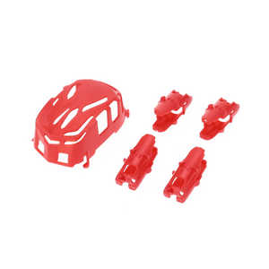 Hubsan H111 H111C H111D RC Quadcopter spare parts body cover and motor deck (H111 Red)