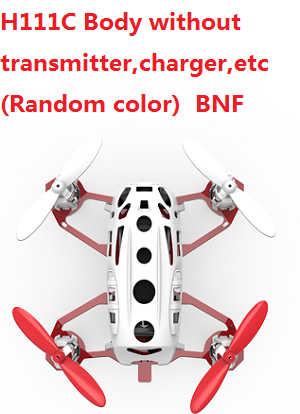 Hubsan H111C Body without transmitter,charger,etc. BNF