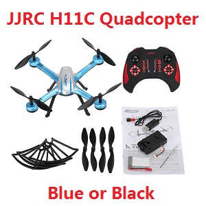 JJRC H11C RC quadcopter with camera (Blue or Black color)