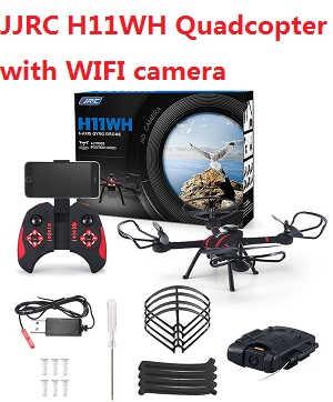 JJRC H11WH RC quadcopter with WIFI camera