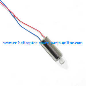 JJRC H12C H12W H12 quadcopter spare parts main motor (Red-Blue)