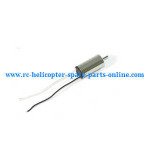 JJRC H20 quadcopter spare parts motor (Black-White wire)
