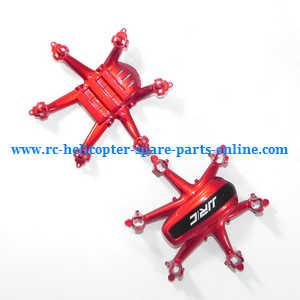 JJRC H20 quadcopter spare parts upper and lower cover set (Red)