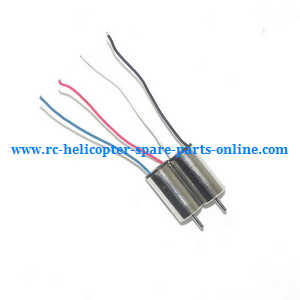JJRC H20 quadcopter spare parts motor (Black-Red wire + Red-Blue wire)