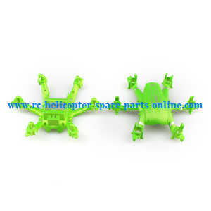 JJRC H20C H20W quadcopter spare parts upper and lower cover (Green)