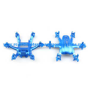 JJRC H20C H20W quadcopter spare parts upper and lower cover (Blue)