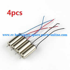 JJRC H20C H20W quadcopter spare parts motors 4pcs