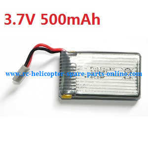 JJRC H21 quadcopter spare parts battery 3.7V 500mAh