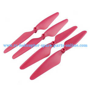 Hubsan H216A RC Quadcopter spare parts main blades (Red)