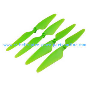 Hubsan H216A RC Quadcopter spare parts main blades (Green)