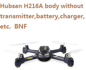 Hubsan H216A body without transmitter,battery,charger,etc. BNF