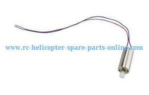 Hubsan H216A RC Quadcopter spare parts main motor (Red-Blue wire)