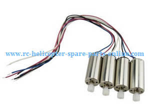 Hubsan H216A RC Quadcopter spare parts main motors with plastic gear 4pcs
