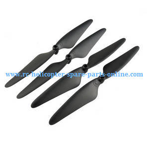 Hubsan H216A RC Quadcopter spare parts main blades (Black)