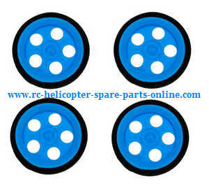 JJRC H23 RC quadcopter spare parts wheels (Blue)
