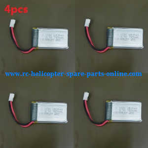 JJRC H23 RC quadcopter spare parts battery 3.7V 750mAh 4pcs