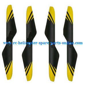 JJRC H23 RC quadcopter spare parts main blades (Yellow)