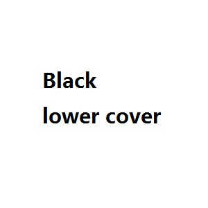 JJRC H26 H26C H26W H26D H26WH quadcopter spare parts lower cover (Black)