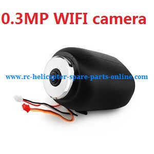 JJRC H28 H28C H28W H28WH quadcopter spare parts 0.3MP WIFI camera (Black)
