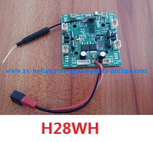 JJRC H28 H28C H28W H28WH quadcopter spare parts receive PCB board (H28WH)