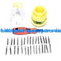 JJRC H28 H28C H28W H28WH quadcopter spare parts 1*31-in-one Screwdriver kit package