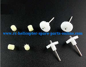 JJRC H37mini RC quadcopter spare parts main gear and small gear 4sets