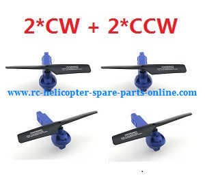 JJRC H38 H38WH RC quadcopter spare parts side bar and motor set (2*CW+2*CCW propellers)