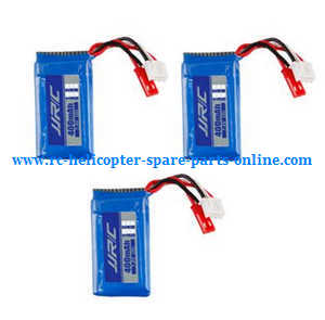 JJRC H38 H38WH RC quadcopter spare parts battery 7.4V 400mAh 3pcs