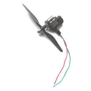JJRC H40WH RC quadcopter spare parts main motor + motor deck + main blade (Red-Blue wire)