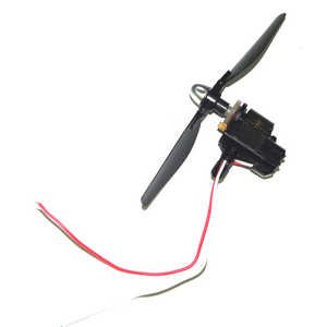 JJRC H40WH RC quadcopter spare parts main motor + motor deck + main blade (Red-White wire)