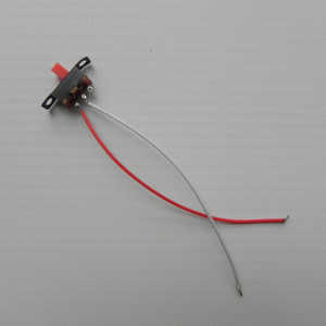 JJRC H40WH RC quadcopter spare parts on/off switch wire plug